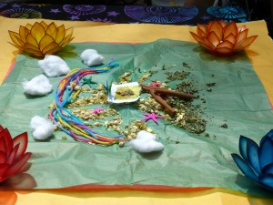 "Despacho, a sacred ceremony for the book ""My Loved One Shines On!"" A Gift from Beyond"